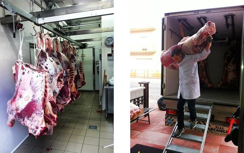 Vendita carne macellata fresca