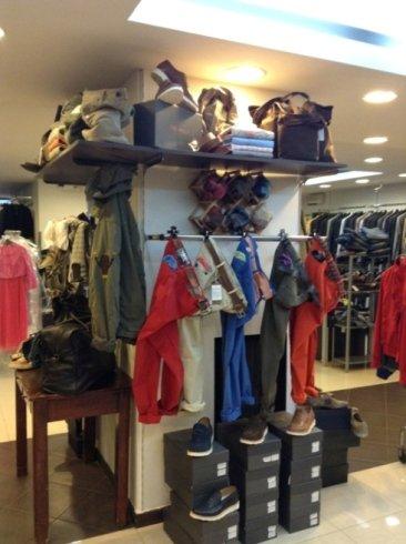interno negozio, outlet, boutique
