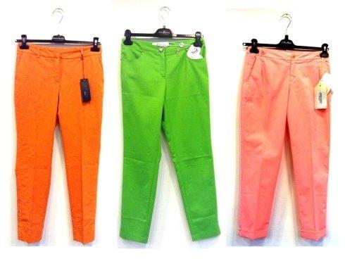 pantaloni colorati, jeans