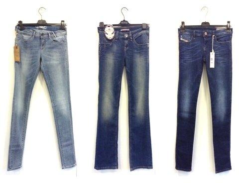 jeans denim donna, jeans slim