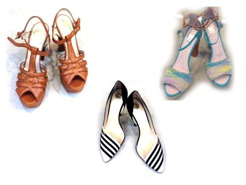 scarpe con tacco, scarpe basse