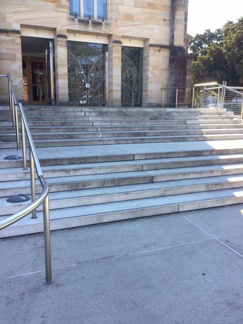 High Pressure Before Steps