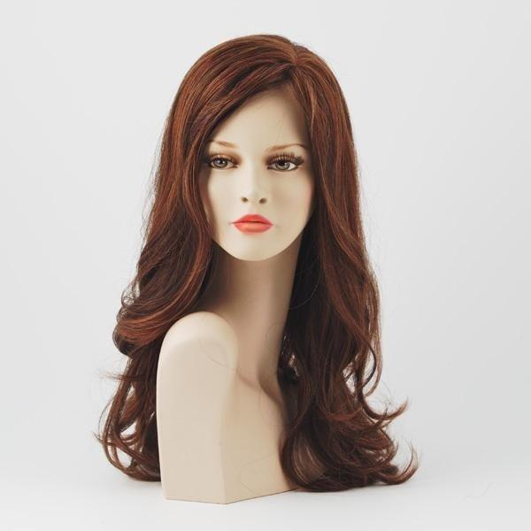 parrucca capelli rossi lungi