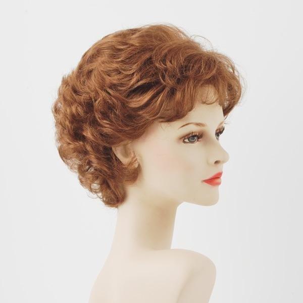 parrucca sintetica rossa