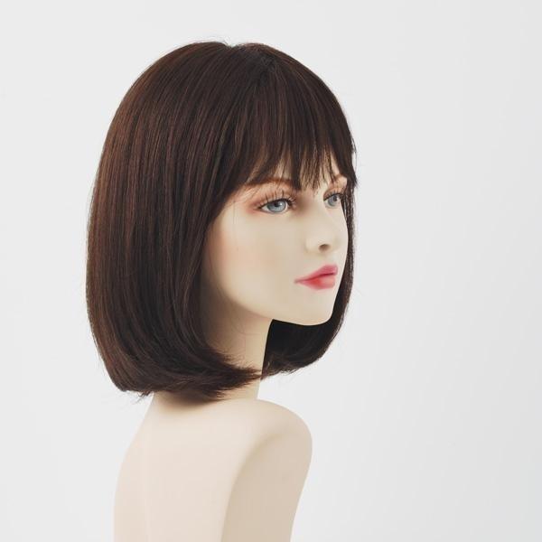 parrucca capelli caschetto