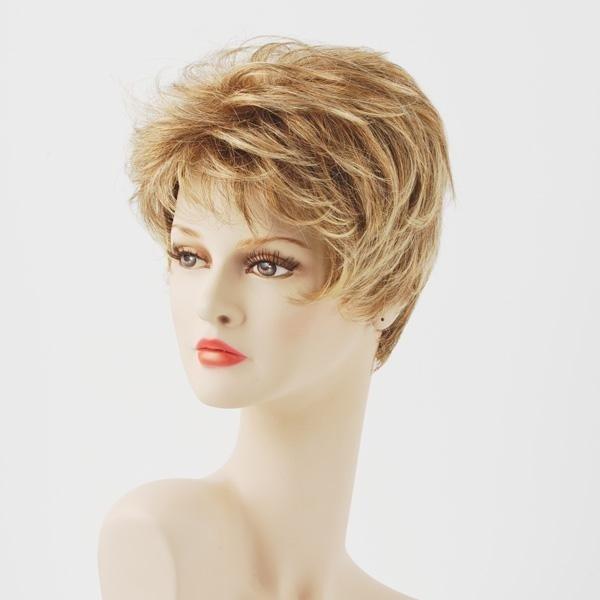 parrucca sintetica cortissima