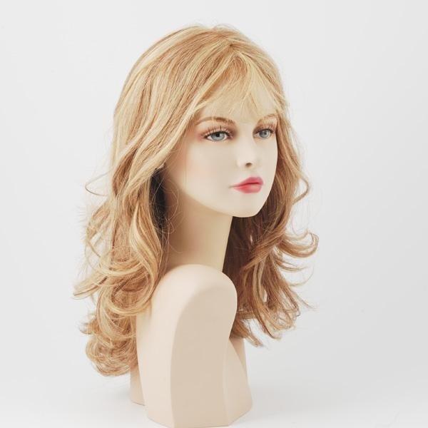 parrucca capelli biondi lunghi