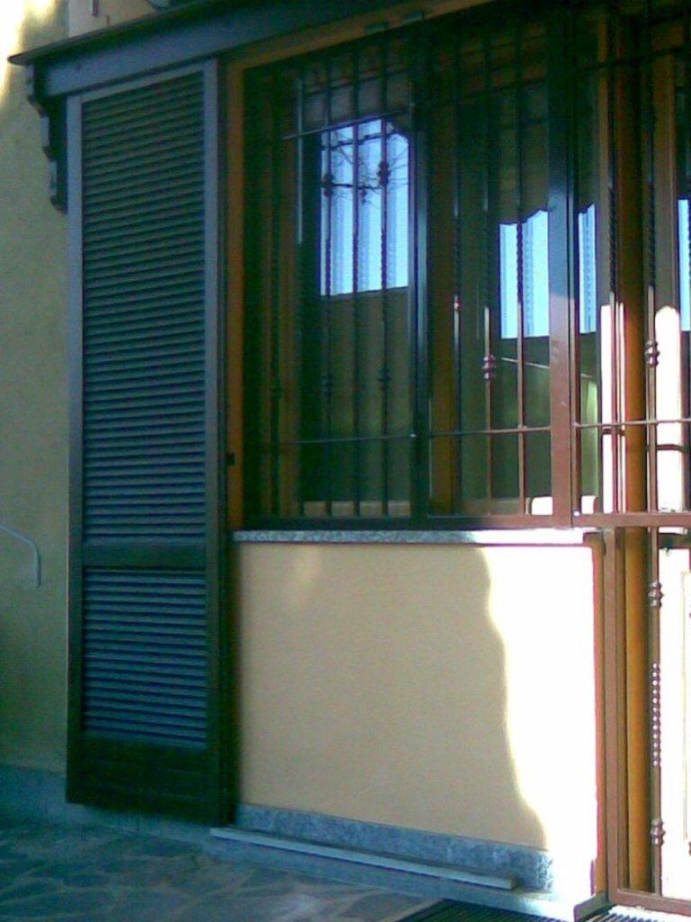 Grate in ferro per finestra