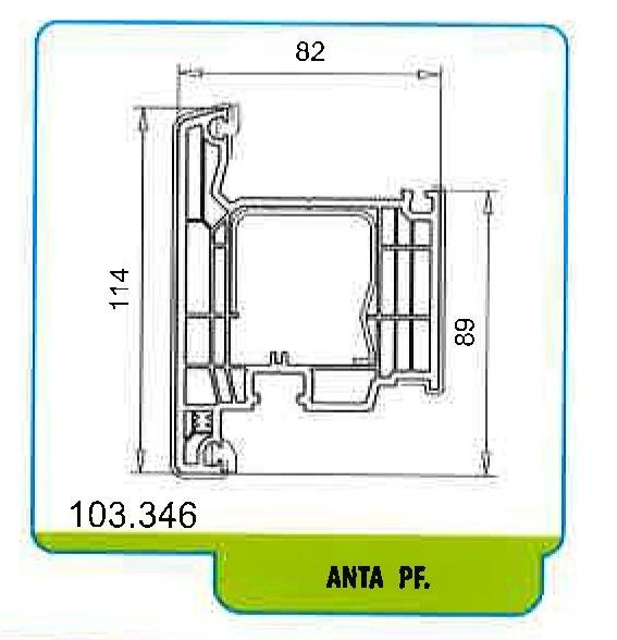 Finestre in PVC Softline 82 MD