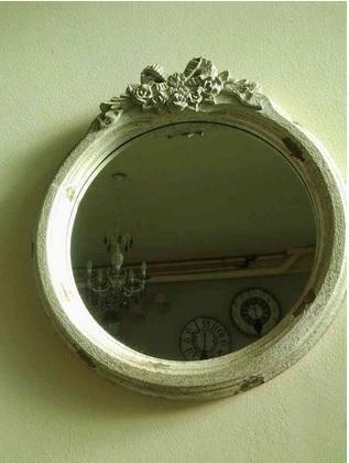 specchio tondo nodo d
