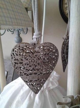 Cuore in metallo amour