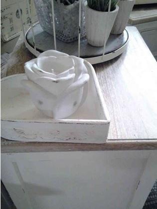 candela antik rose piccola