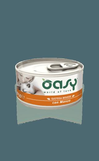Oasy Mousse per gatti in promozione