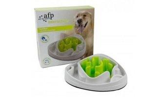 AFP INTERACTIVES: Pet labirinto ciotola AFP verde per cani interattivo lento alimentatore anti gulp
