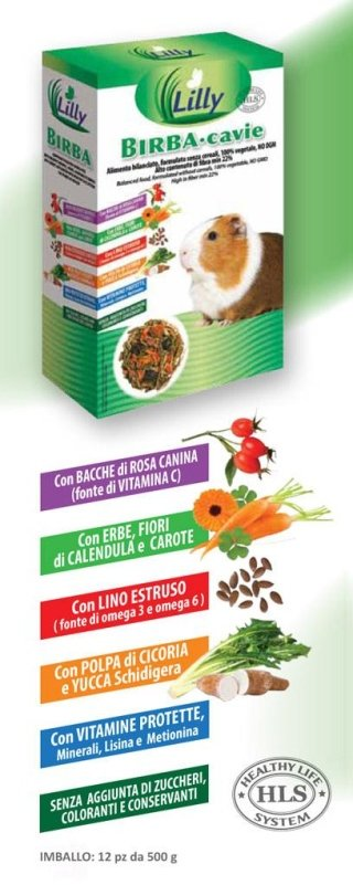 alimenti per cavie Casapet -Lilly