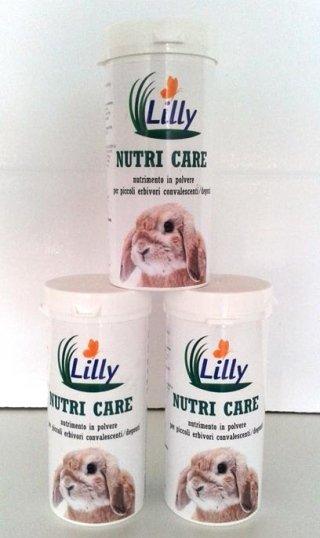 nutricare per conigli lilly