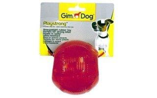 Gim Gioco Cane Play Strong - Palla: lay Strong, gioco per cani a forma di palla in gomma resistente, perfetto per i potenti morsi del tuo cane. Disponibile in tre dimensioni.