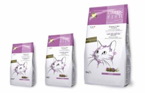 Adult Dry Senza glutine di frumento Alimento completo per gatti adulti  Composizione: cereali (riso 10%), pesci e sottoprodotti dei pesci (24% di cui pesce fresco 5%), estratti di proteine vegetali, oli e grassi, sottoprodotti di origine vegetale (polpa di barbabietola 2%), lieviti, sostanze minerali, Rosmarino (2000 mg/kg), Carciofo (2000 mg/kg), Taurina (1200 mg/kg), Cardo mariano (1000 mg/kg). ADDITIVI: Additivi nutrizionali per Kg: Vitamina A 1900 UI Vitamina D3 1250 UI Vitamina E (91% alfa tocoferoli) 160 mg Taurina 1200 mg Solfato rameico pentaidrato 72 mg Carbonato ferroso 94 mg Ossido manganoso 116 mg Carbonato di Cobalto 5,4 mg Ossido di Zinco 73 mg Iodato di calcio 13,5 mg Selenito di sodio 18 mg.