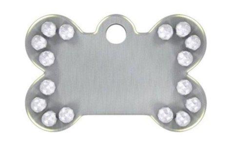 Medagliette di Metallo per animali CAMON: di varie dimensioni e colori, con o senza SWAROSKY , le medagliette della CAMON si agganciano al collare e sono personalizzabili (incisione a parte).
