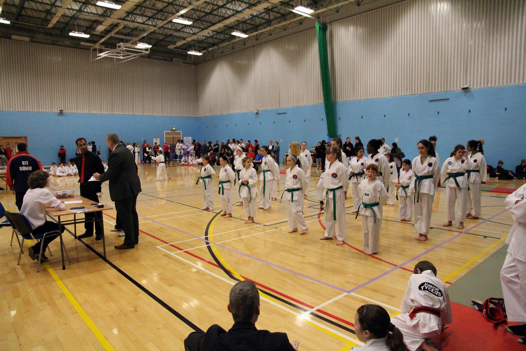 karate arena