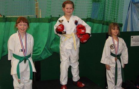 kids karate winners