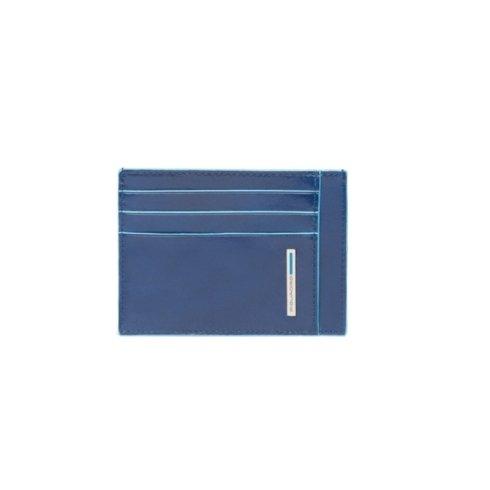 Porta carte di credito in pelleverde foresta Blue Square