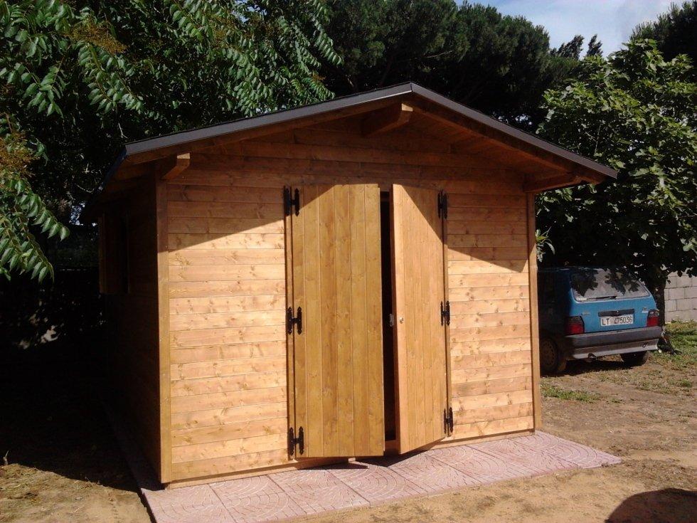 Casetta in legno 300x400