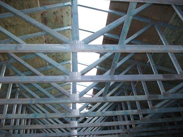 Montaggio tetto abitazione
