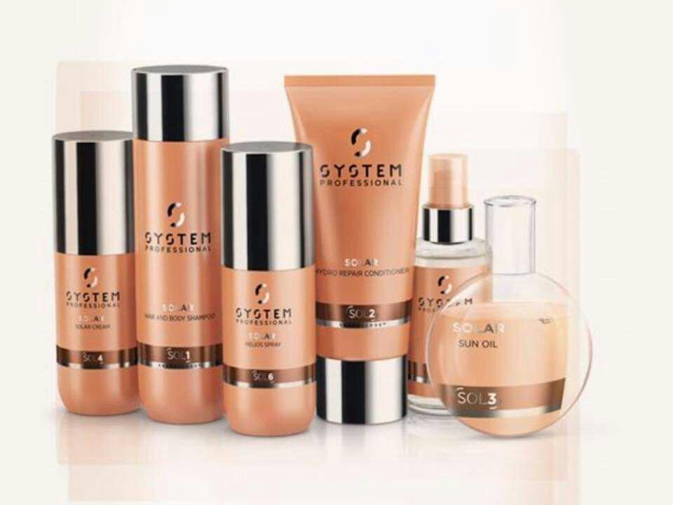 dei prodotti di bellezza della marca System Professional