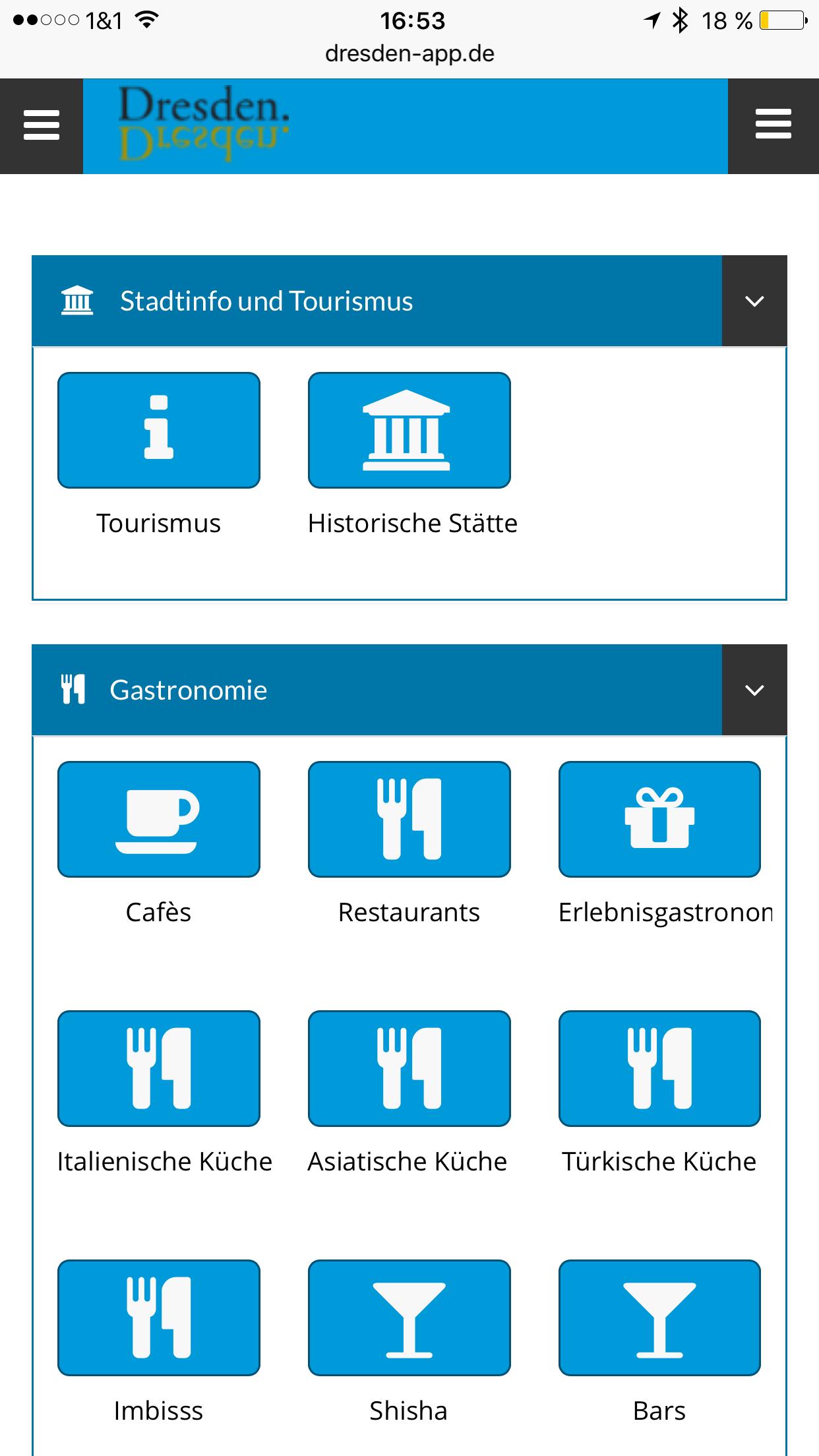 Dresden App - Icons