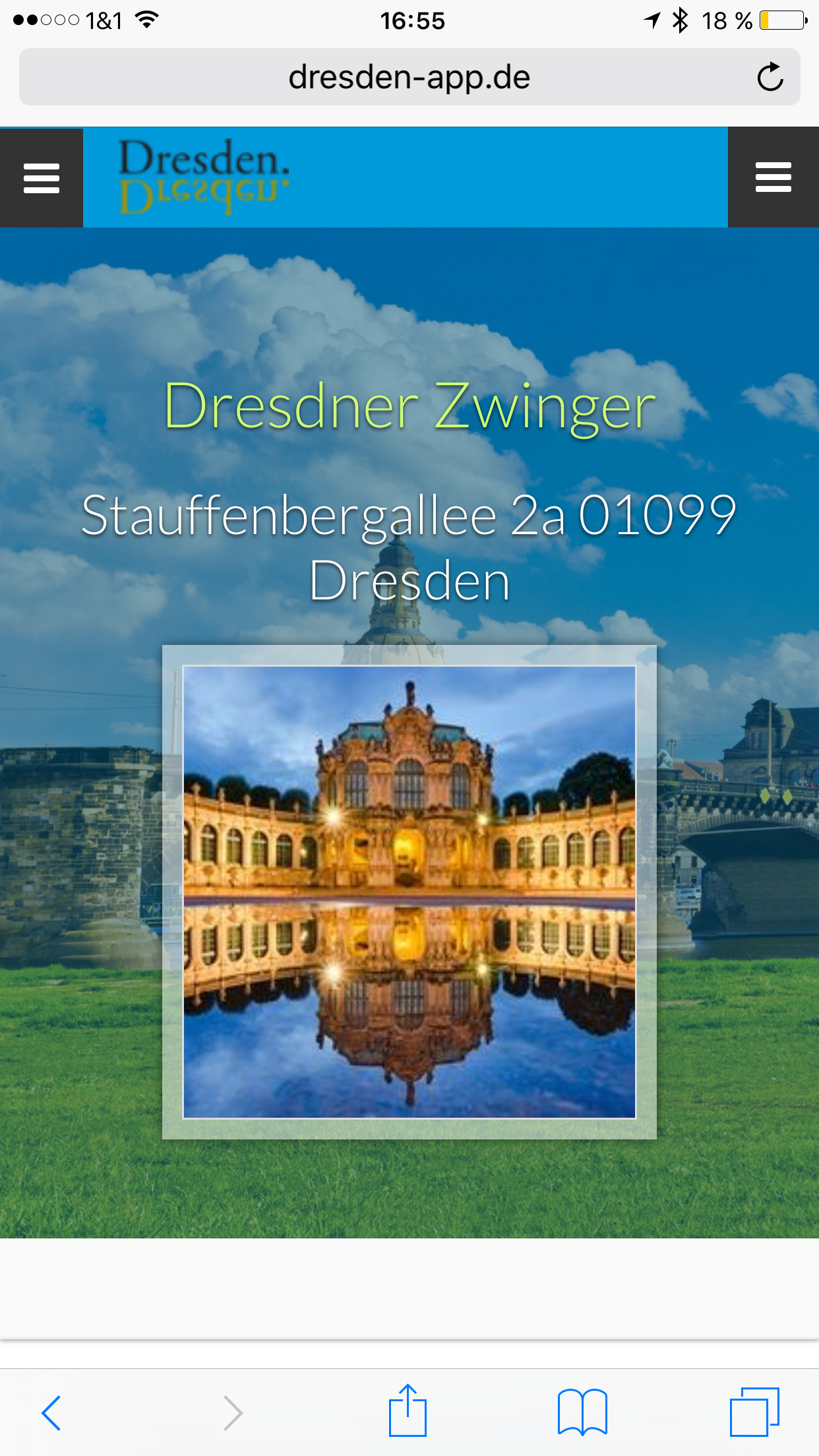 Dresden App - Sehenswürdigkeiten