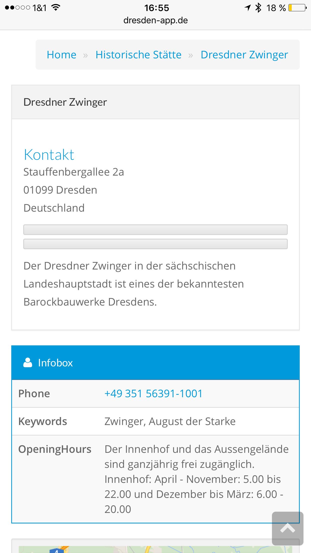 Dresden App - Sehenswürdigkeit und Infos