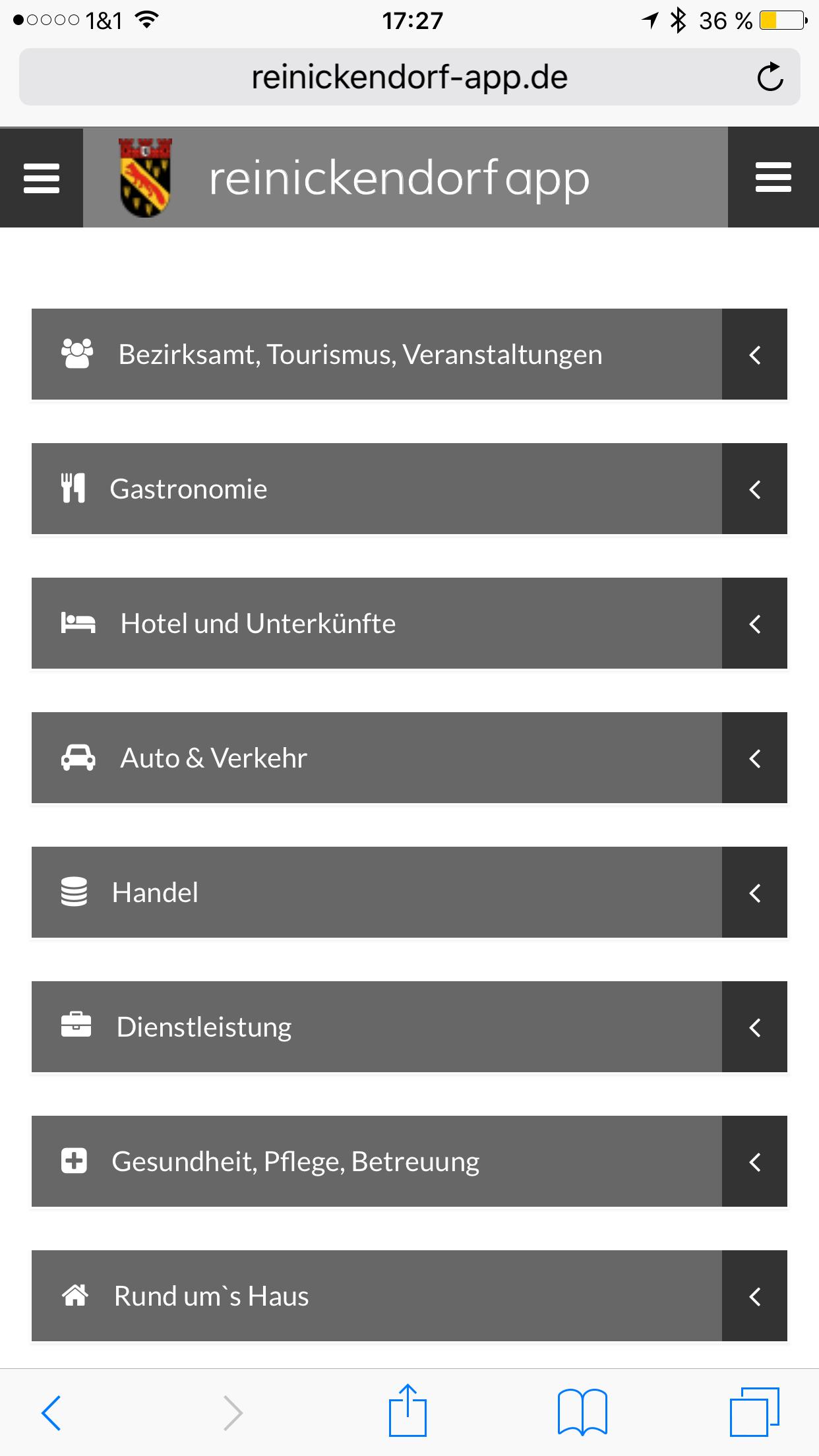 Reinickendorf App - Startseite