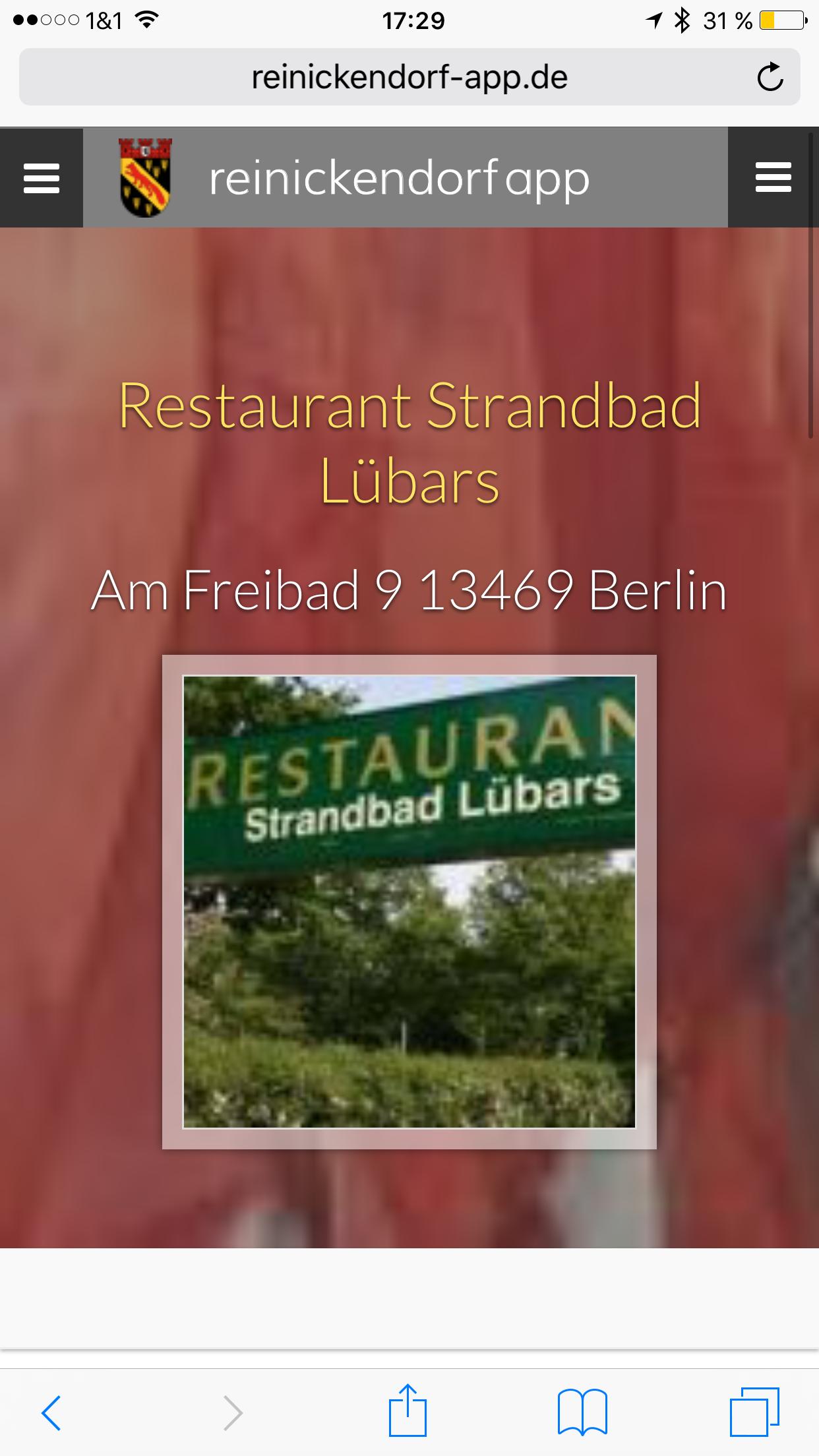 Reinickendorf App - Strandbad Lübars