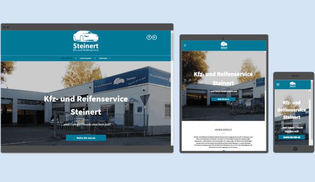 Kfz Steinert Website