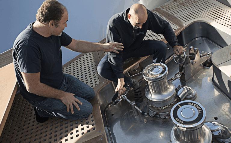 riparazione di motori elettrici e motori marini