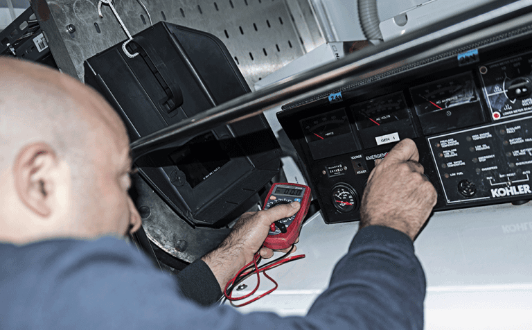 misure di potenziale elettrico