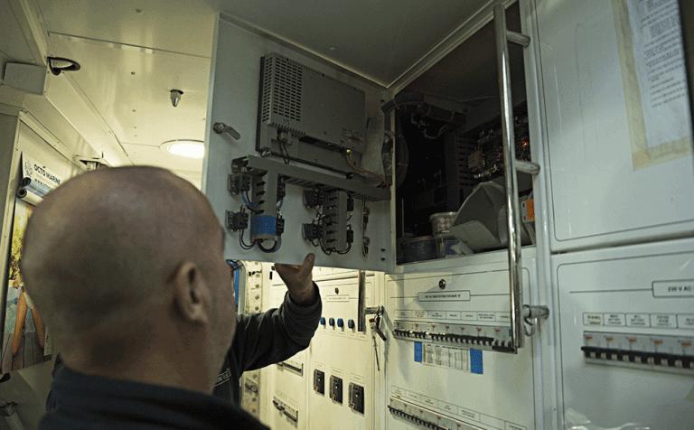 termocamera per verifiche su impianti navali