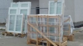 porte vetro legno