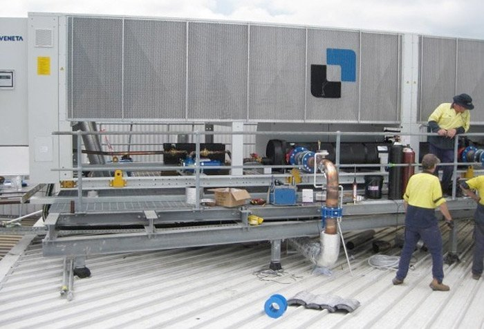 chiller replacement installation