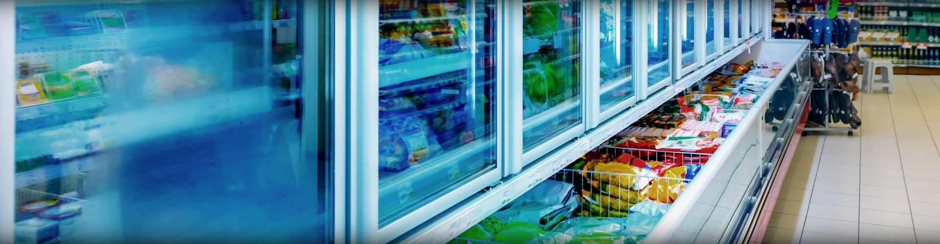 commercial refrigeration in store