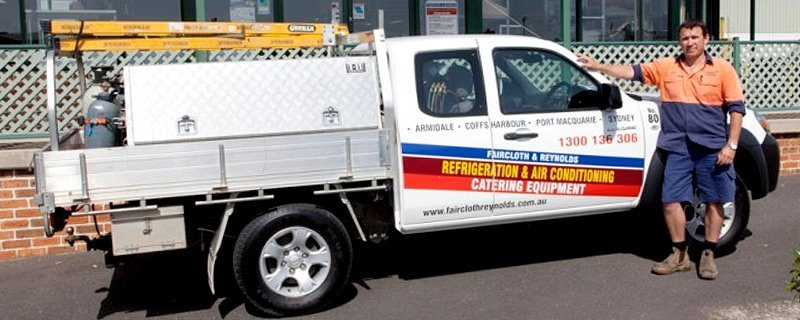 trained staff member and fully equipped ute