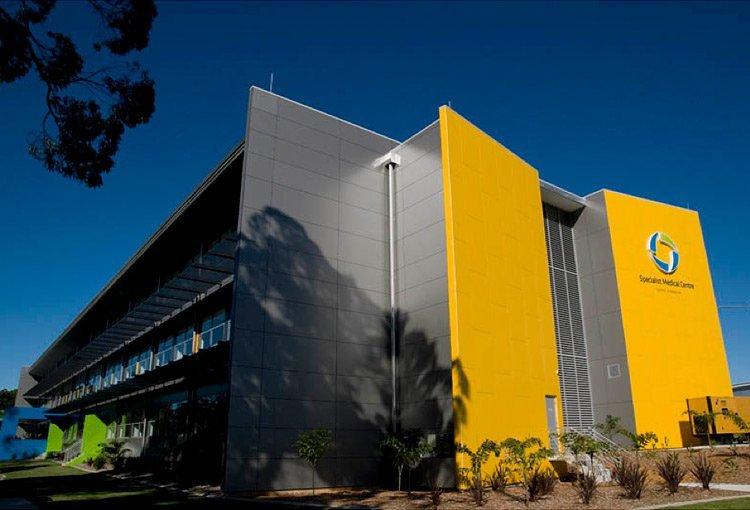 specialist medical centre exterior
