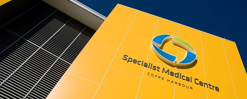 specialist medical centre signage