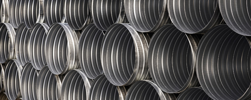 steel ducting pipes