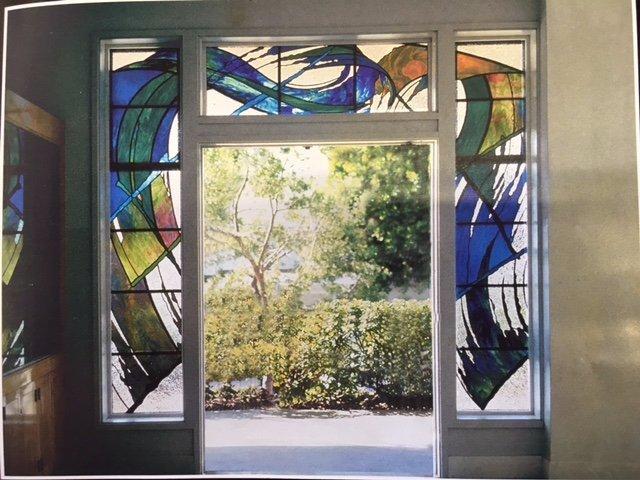 entrance glass design