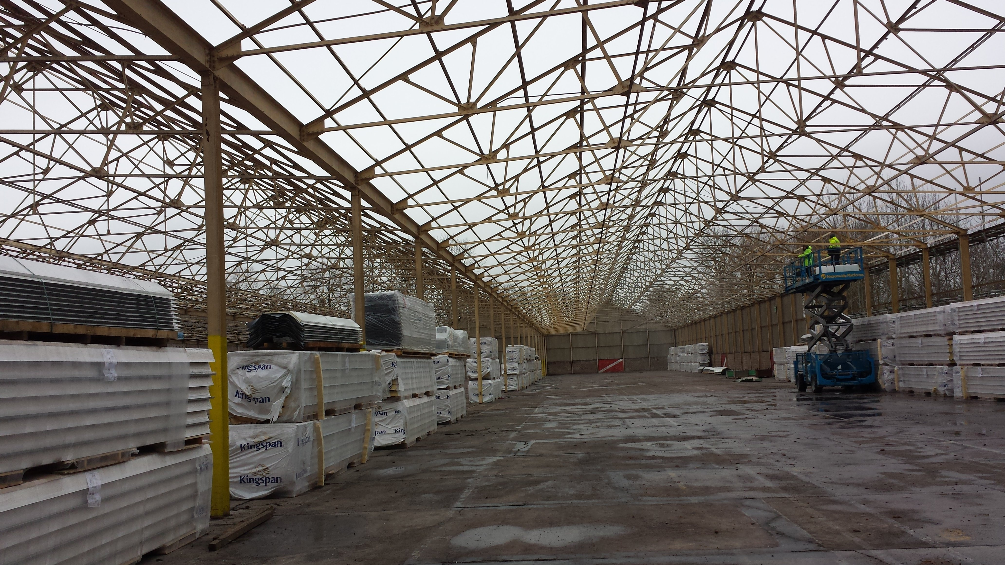 safety netting for buildings