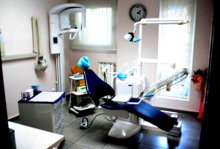 sala visita odontoiatrica