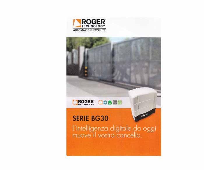 cancello automatico Roger