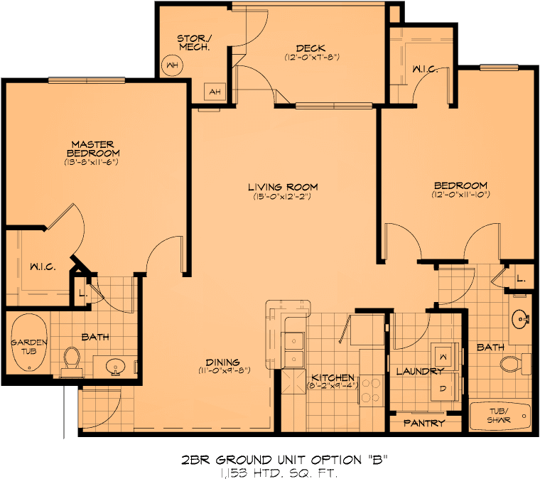 Two Bedroom Apartments Fayetteville, NC